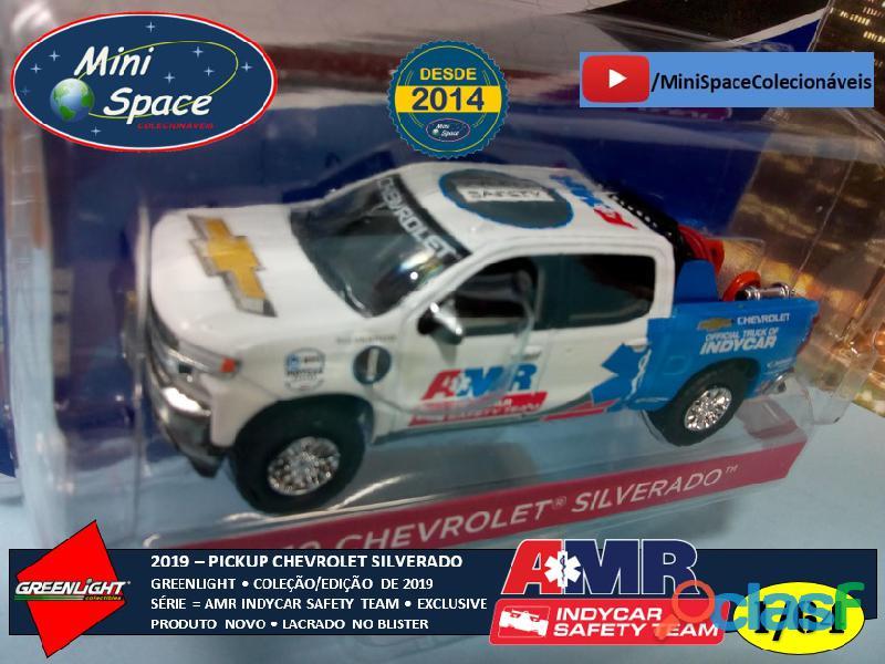 Greenlight 2019 Chevrolet Pickup Silverado Indycar Safety 1/64 3