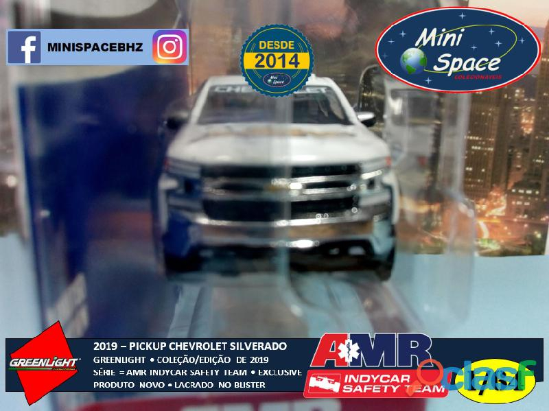 Greenlight 2019 Chevrolet Pickup Silverado Indycar Safety 1/64 4