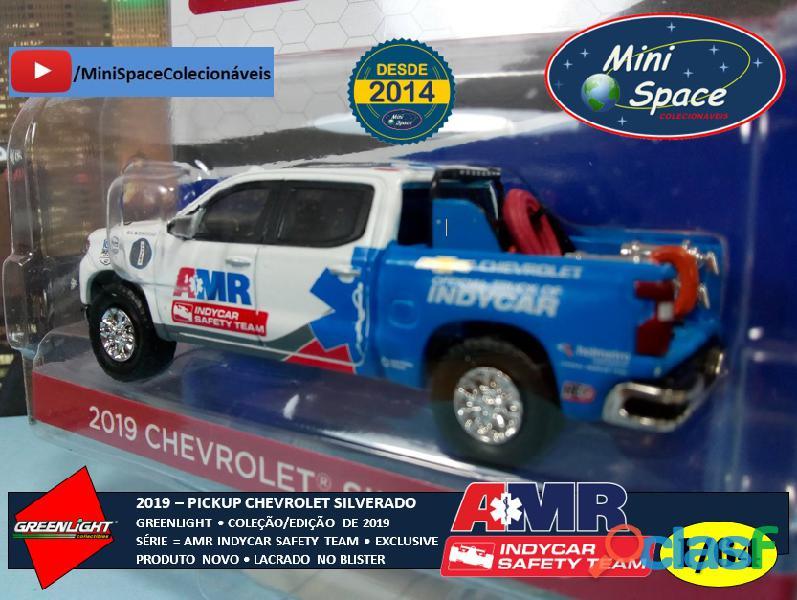 Greenlight 2019 Chevrolet Pickup Silverado Indycar Safety 1/64 6