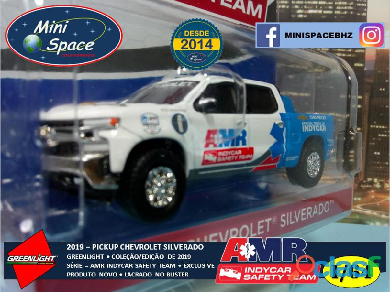 Greenlight 2019 Chevrolet Pickup Silverado Indycar Safety 1/64 7