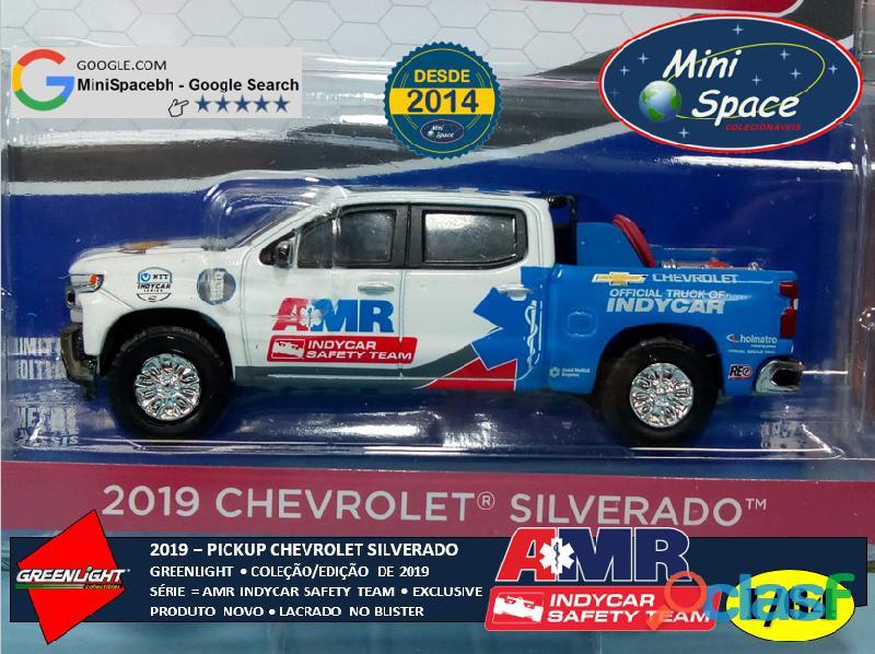 Greenlight 2019 Chevrolet Pickup Silverado Indycar Safety 1/64 8