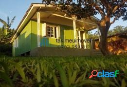 Casa com 3 dormitórios à venda, 65 m² por r$ 159.000 bela vista - alvorada/rs