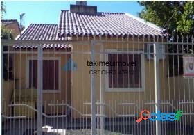 Casa com 3 dormitórios à venda, 69 m² por r$ 190.000 porto verde - alvorada/rs