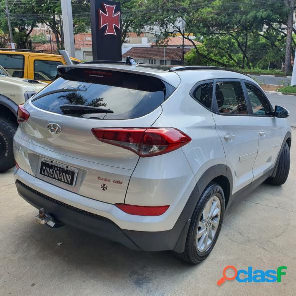 Hyundai tucson gls 1.6 turbo 16v aut. prata 2019 1.6 gasolina