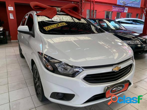 CHEVROLET ONIX HATCH LT 1.0 8V FLEXPOWER 5P MEC. BRANCO 2018 1.0 FLEX