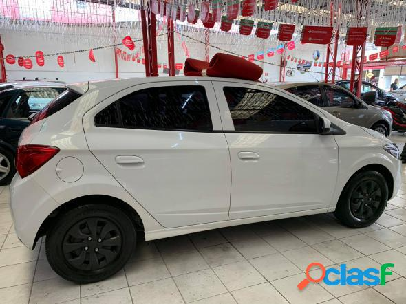 CHEVROLET ONIX HATCH LT 1.0 8V FLEXPOWER 5P MEC. BRANCO 2018 1.0 FLEX 2