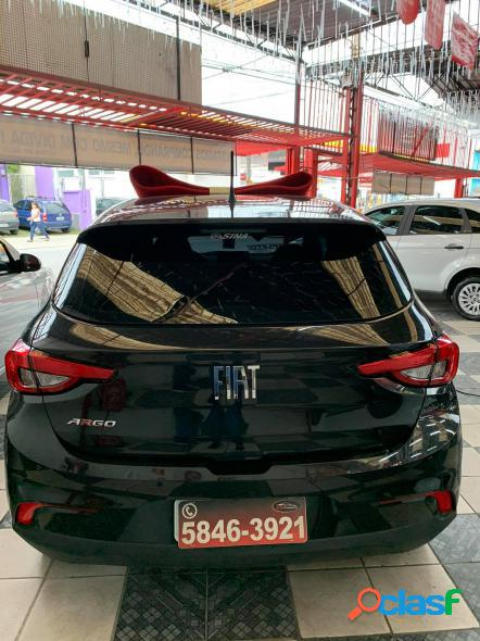 FIAT ARGO 1.0 6V FLEX. PRETO 2019 1.0 FLEX 3