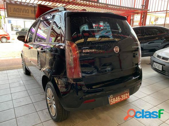 FIAT IDEA ATTRACTIVE 1.4 FIRE FLEX 8V 5P PRETO 2012 1.4 FLEX 2
