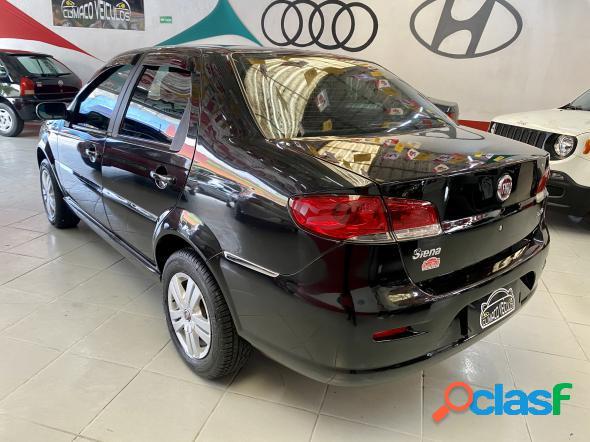 Fiat siena elx 1.4 mpi fire flex 8v 4p preto 2009 1.4 flex