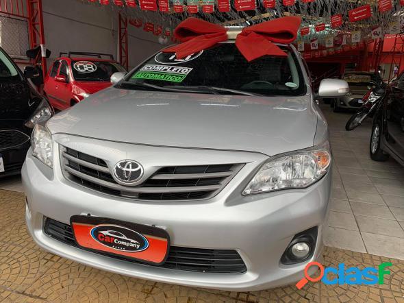 Toyota corolla xei 2.0 flex 16v aut. prata 2013 2.0 flex