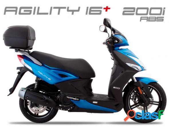 Kymco agility 16+ 200i abs azul 2020 160 gasolina