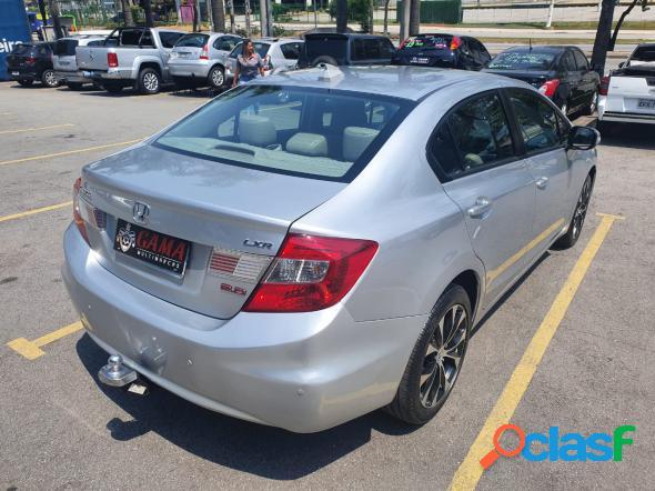 Honda civic sedan lxs 1.81.8 flex 16v aut. 4p prata 2016 1.8 flex