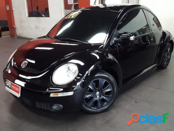 Volkswagen new beetle 2.0 mi mec.aut. preto 2010 2.0 gasolina