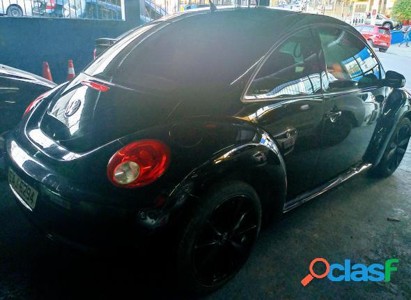 Volkswagen new beetle 2.0 mi mec.aut. preto 2008 2.0 gasolina
