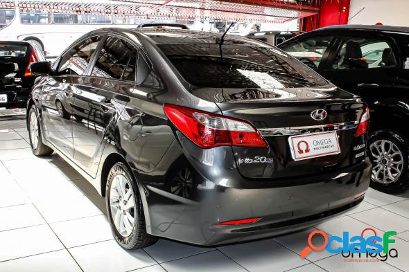 Hyundai hb20s premium 1.6 flex 16v aut. 4p cinza 2014 1.6 flex