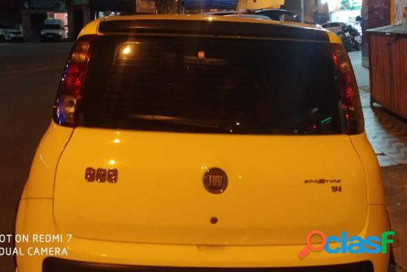 FIAT UNO SPORTING 1.4 EVO FIRE FLEX 8V 2P AMARELO 2012 1.4 FLEX 3