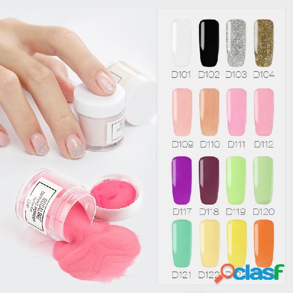 34 cores mergulhar em pó gradiente francês pigmento cromo mergulhando manicure brilho em pó
