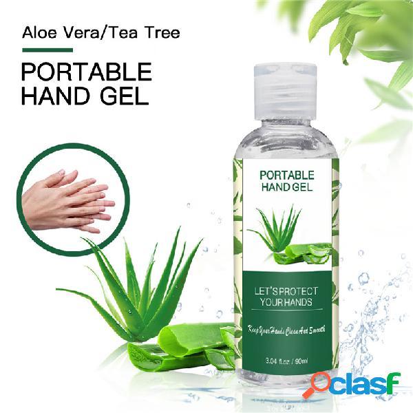 Esterilização portátil aloé vera descartável desinfetante para as mãos 99% gel de desinfecção antibacteriana