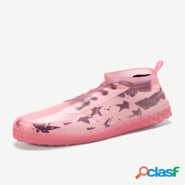 Protetor de calçados femininos à prova d'água à prova de poeira