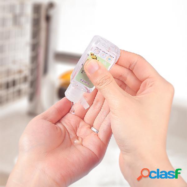 30ml mini desinfetante infantil descartável para as mãos e desinfetante antibacteriano sem água gel de secagem rápida