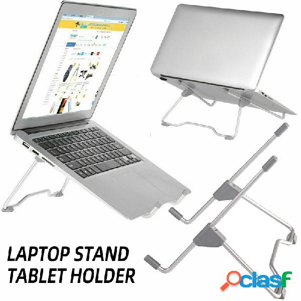Suporte de laptop portátil confortável suporte dobrável ajustável para notebook