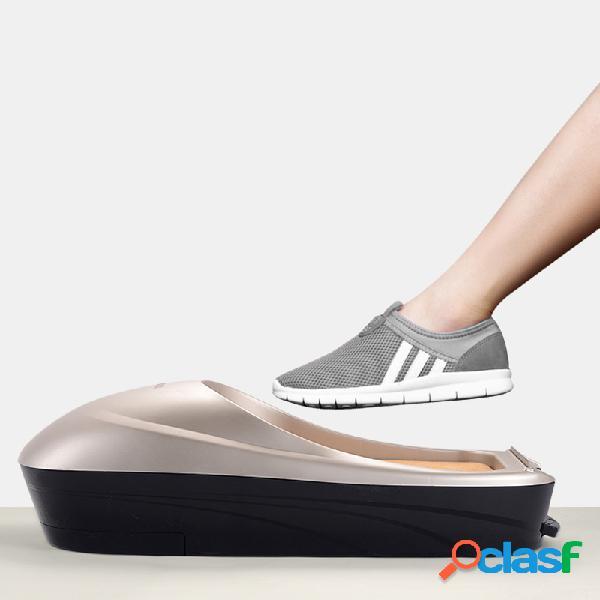 Máquina de filme de sapato home automática nova tampa descartável de pé totalmente automática inteligente