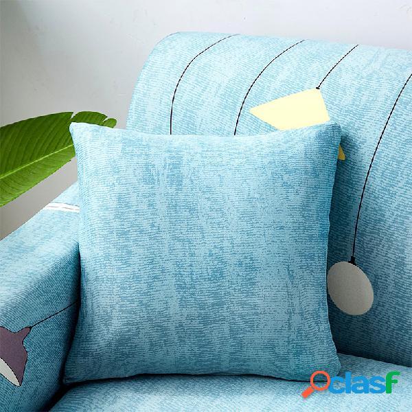Moderno e simples tecido de algodão geométrico jogar fronhas sofá em casa escritório soft cintura capa de almofada