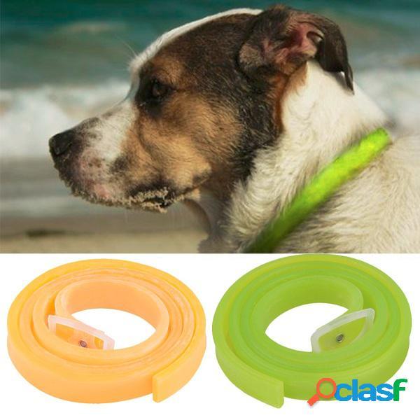 Prevenção de eliminação de fragrância ajustável de carrapatos de pulgas insetos colar de gato e cão