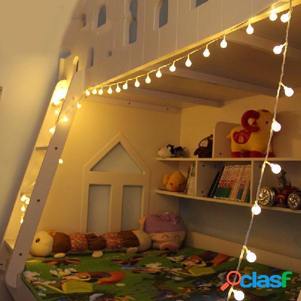 10m warm white 100led ball fairy string light para banquete de casamento christmas home decor