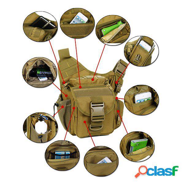 Nylon bolsa de camera outdoor multi-functional bolsa de peito tactical para homens