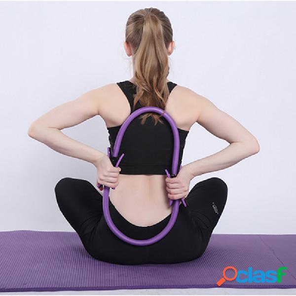 Profissional portátil yoga anel de treinamento esportivo círculo de pilates mulheres aptidão acessórios
