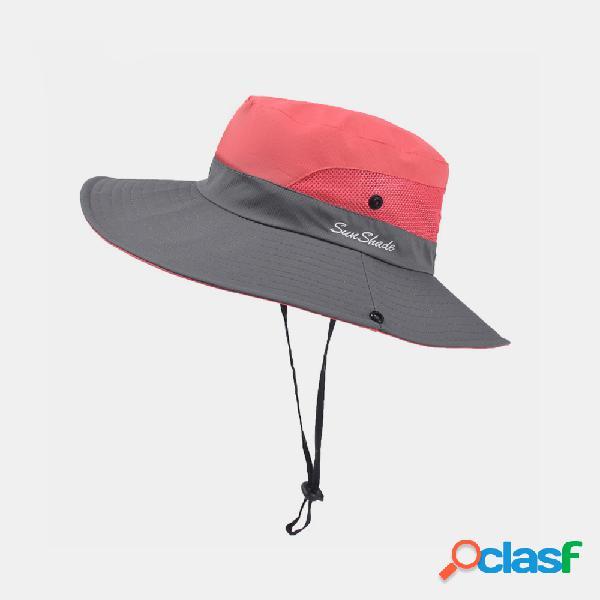 Sol respirável chapéu bennet outdoor fisherman chapéu