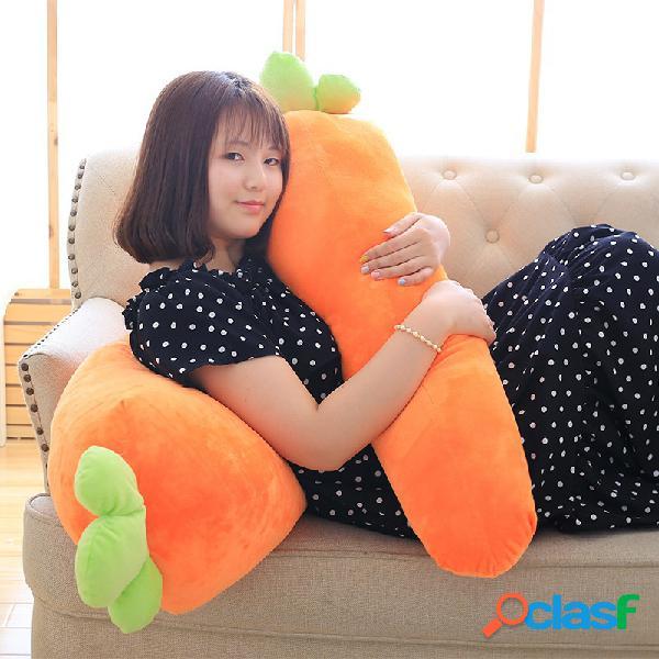 Almofada almofada almofada vegetal brinquedo de pelúcia infantil pelúcia boneca