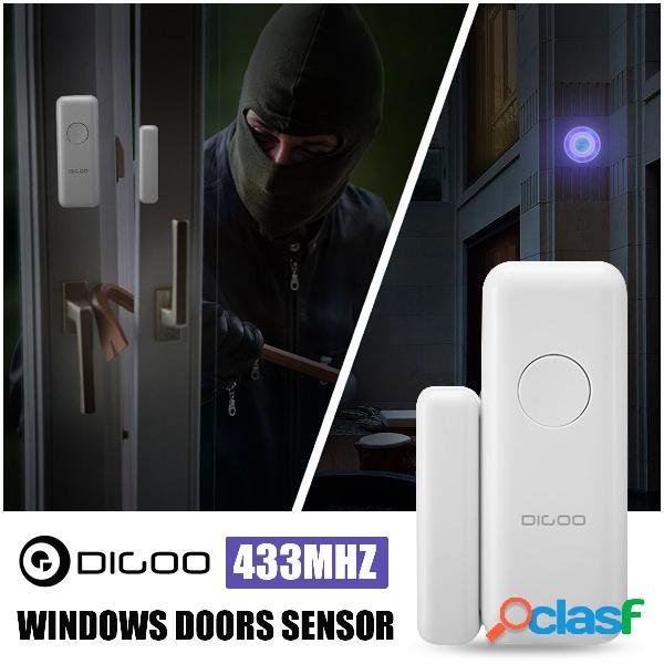 digoo dg-hosa wireless hosa protect windows doors sensor para 433 mhz detector de segurança doméstica kits de sistema de alarme