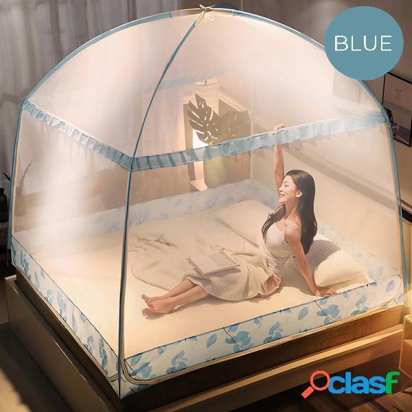Rede mosquiteira de três portas para cama de adulto repelente de insetos portátil rede mosquiteira para barraca