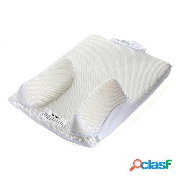 travesseiro anti-enrolamento para bebês recém-nascidos infantil u ltimate ventilador de sono posicionador fixo evite almofada de cabeça plana para dormir