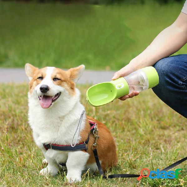 Pet portátil cachorro garrafas de água de viagem filhote de cachorro gato copo bebendo ao ar livre pet dispensador de água alimentador
