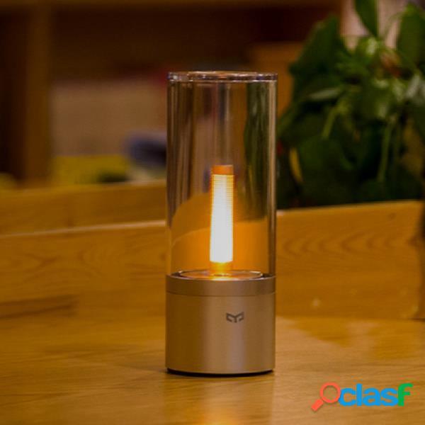 Yeelight recarregável led regulável light bluetooth lâmpada de mesa de controle (xiaomi ecosystem product)