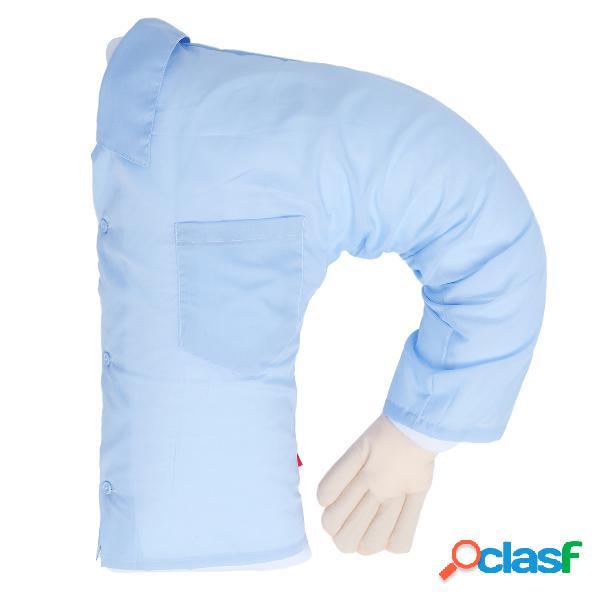 Casa soft u-forma boy friend braço pillow dormir bed abraço almofada lavável presente