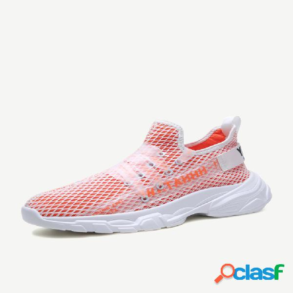 Sapatos sapatos masculinos tide wild respirável sapatos esportivos masculino sapatos casuais trend malha sapatos pequenos brancos temporada sapatos masculinos