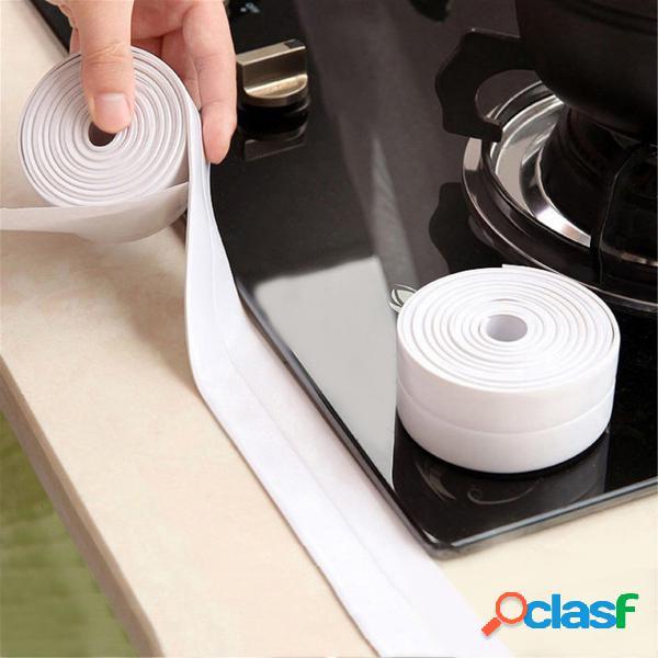 3.8mm cozinha banheiro fita adesiva de anel de adesivo de parede à prova d 'água fita de borda à prova de fita
