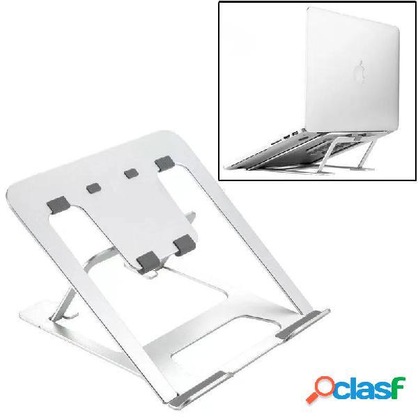 Suporte de resfriamento para laptop liga de alumínio desktop criativo suporte dobrável preguiçoso para tablet universal