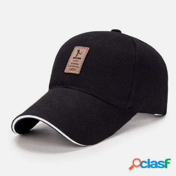 Men plus protetor solar de aba longa verão uv proteção malha berathable chapéu dom chapéu beisebol chapéu