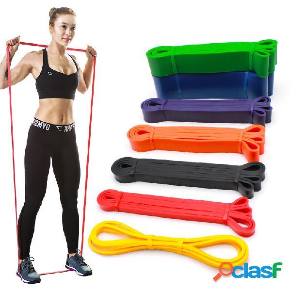 15-175lb aptidão faixas de resistência pilates yoga band multifunction sport elastic rubber band