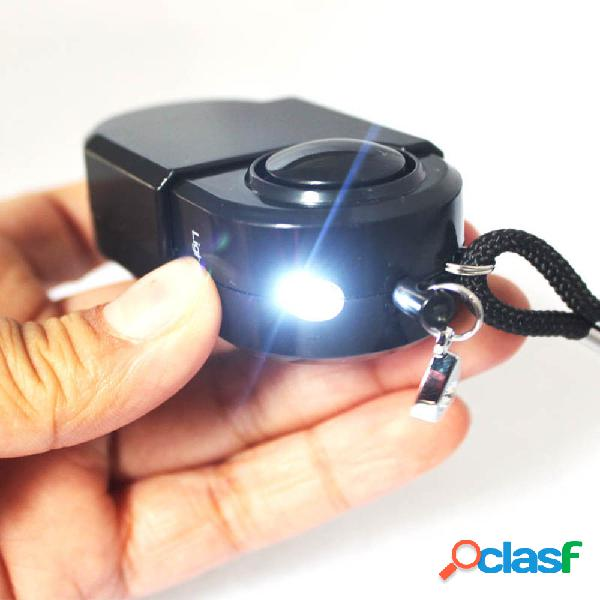 Camping travel portable mini pir movimento infravermelho sensor detector de alarme 120db sistemas de segurança residencial sem fio anti-roubo