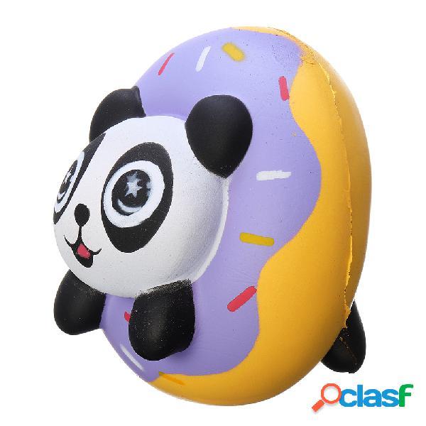 Panda donut squishy macio lento rising coleção presente decor toy