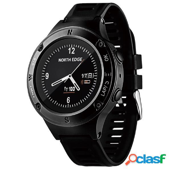 Esporte homens relógio inteligente relógio digital à prova d 'água north edge relógio do esporte taxa de coração relógios de pulso