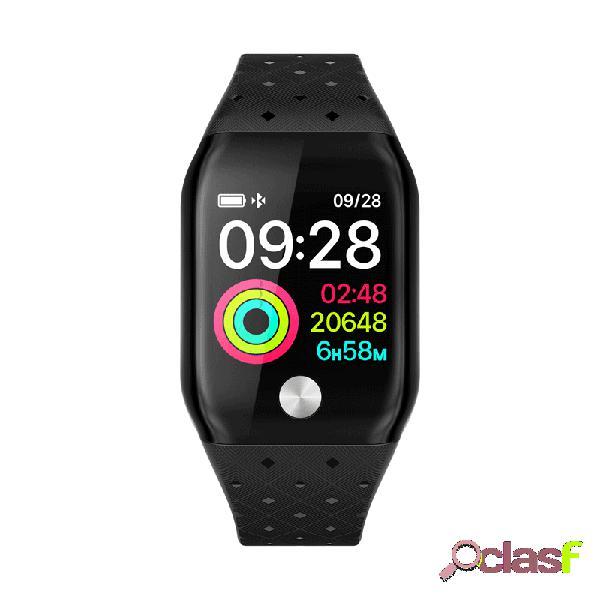 Relógio inteligente monitor de atividade de tela colorida hr pressão sanguínea monitor de sono com oxigênio app push