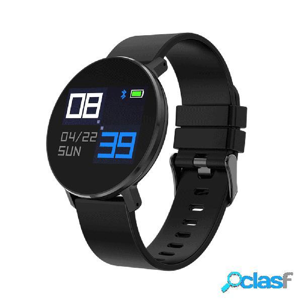 Silicone relógio de cinta ultra fino design relógio inteligente dynamic coração monitor de taxa monitor de atividade monitor de relógio inteligente