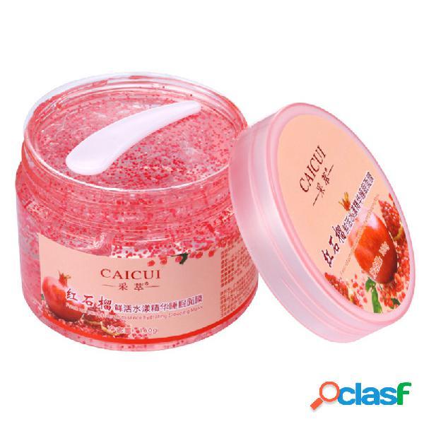 Red romã dormir máscara hidratante hidratante shrink reparação poros creme essência rosto cuidados com a pele